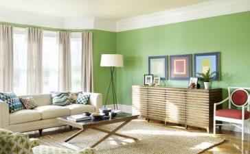 أفكار جذابة لتغيير ديكور منزلك باللون الأخضر