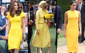 اكتشفي معنا أفضل تصاميم الفساتين لملكات بريطانيا