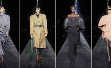 تصاميم متألقة وراقية من عروض أزياء جيفنشي خريف شتاء 2020