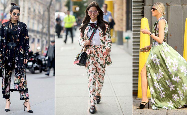 طبعات الزهور أفضل تصاميم الموضة لموسم الخريف