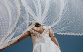 طرق مختلفة لارتداء طرحة الزفاف وطرق تنسيقها مع الفستان