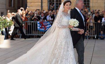 فساتين زفاف ملكية ارتدينها الملكات والأميرات