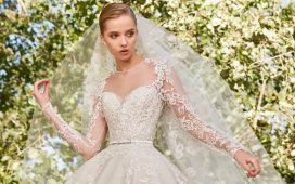 تشكيلة فساتين زفاف إيلي صعب لموسم 2021