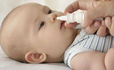 احتقان الأنف عن الرضع