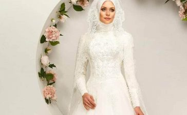 تشكيلة فساتين زفاف ناعمة للمحجبات