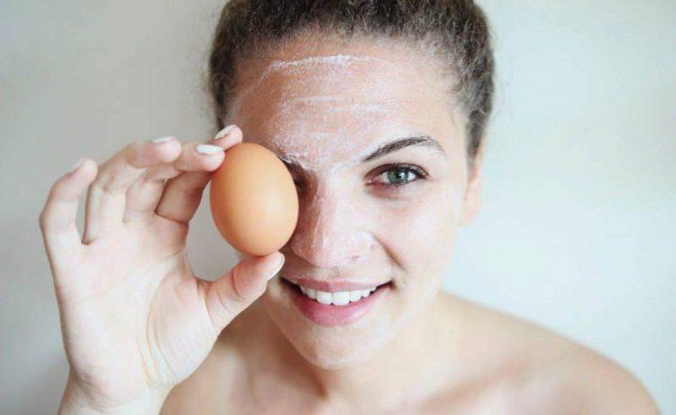 أقنعة بياض البيض للعناية بجمال بشرتك