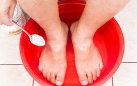 وصفات بيكربونات الصودا للعلاج جميع مشاكل القدمين