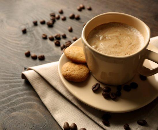 القهوة الفرنسية بالحليب