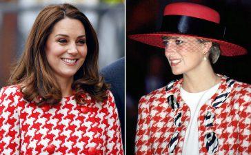 إطلالات كيت ميدلتون المستوحاة من أزياء الأميرة ديانا