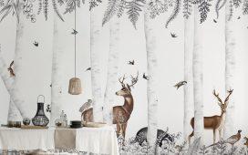 إليك أفضل تصاميم ورق الجدران لخريف وشتاء 2022